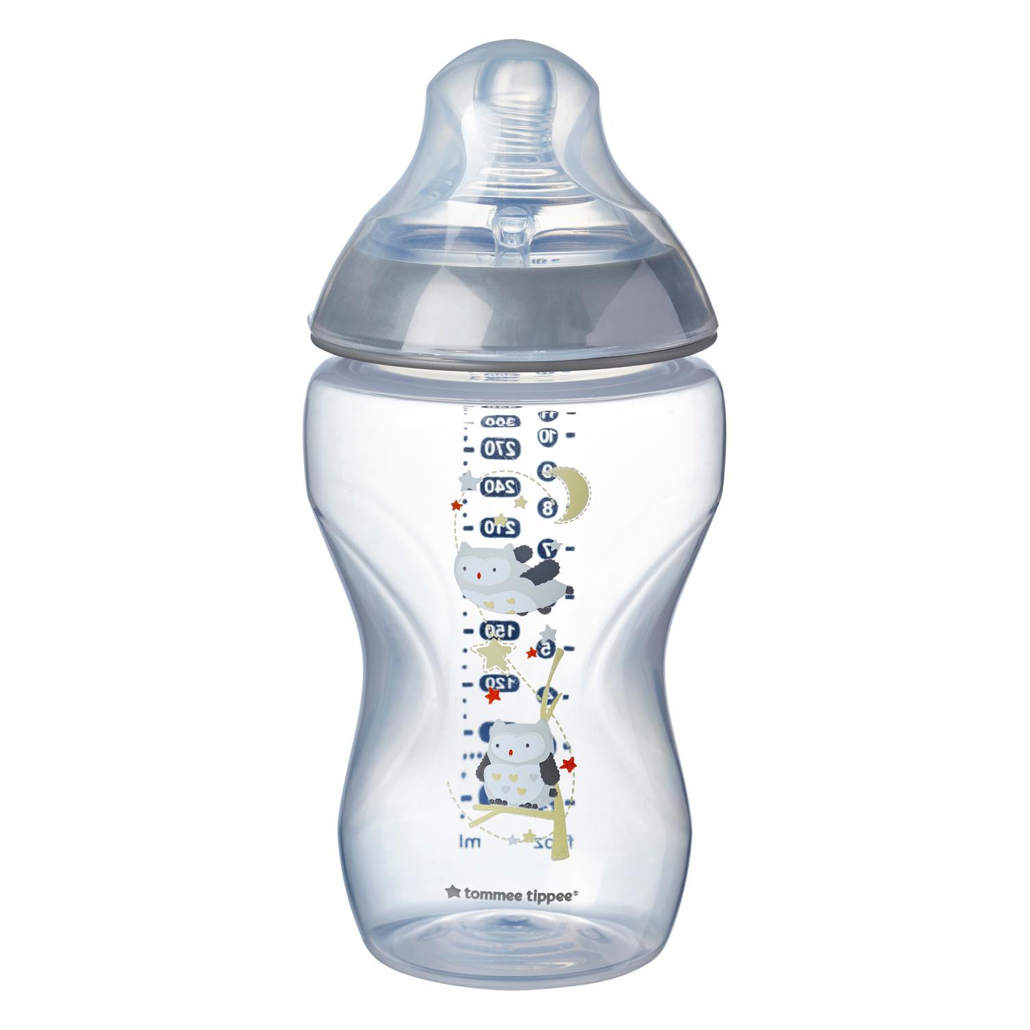 Dojčenská fľaša C2N modrá 340ml 3m+
