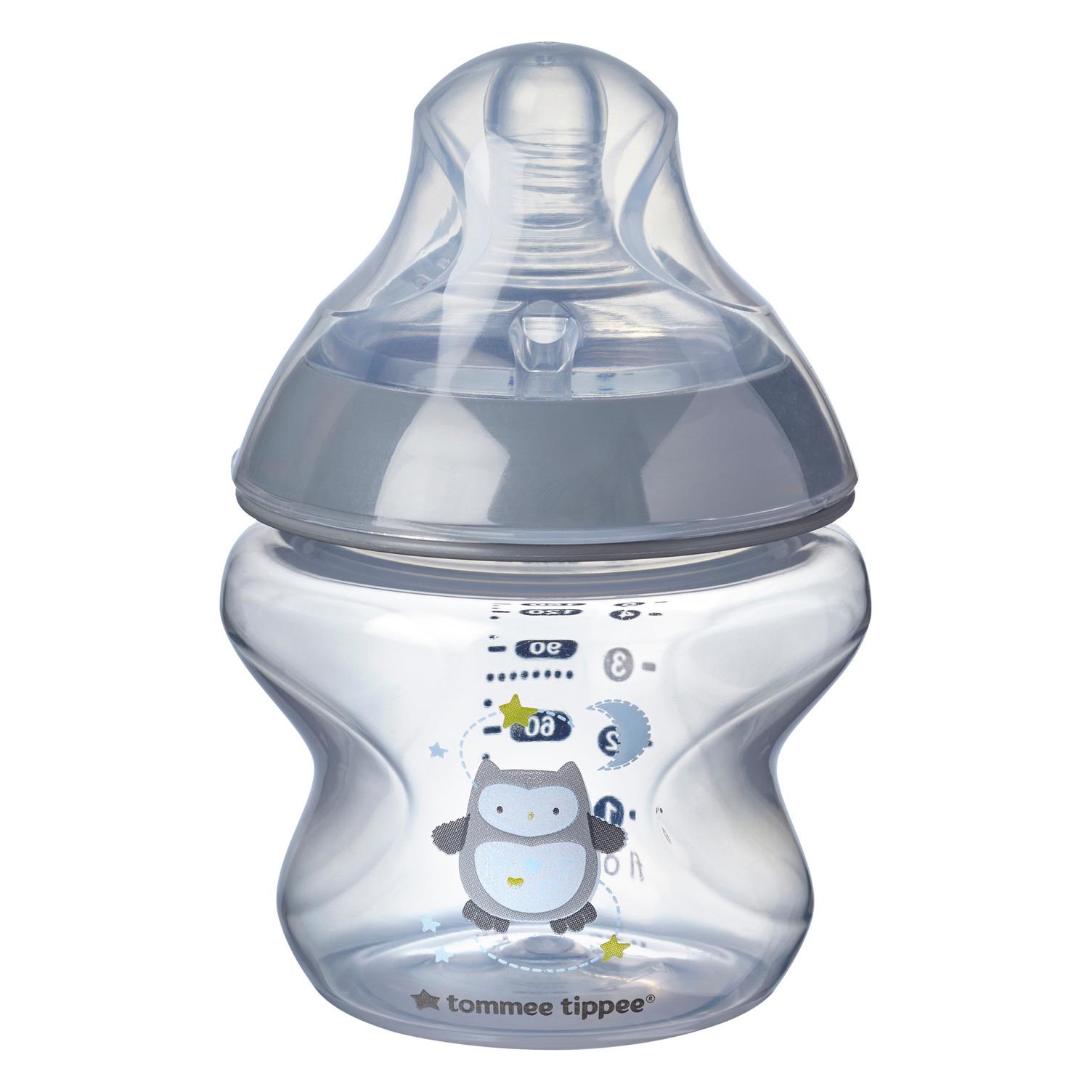 Dojčenská fľaša C2N potlač, 1ks 150ml, 0+m