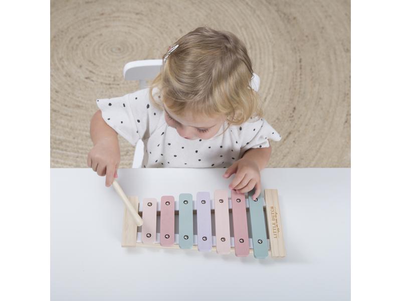 Little Dutch xylofon pink