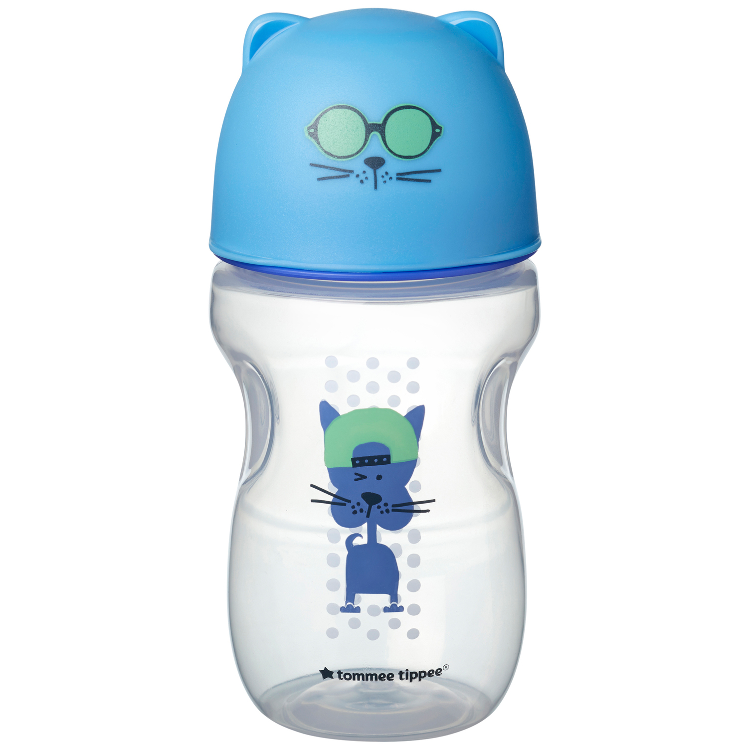 Hrnček s náustkom Soft 300ml 12m+ Blue