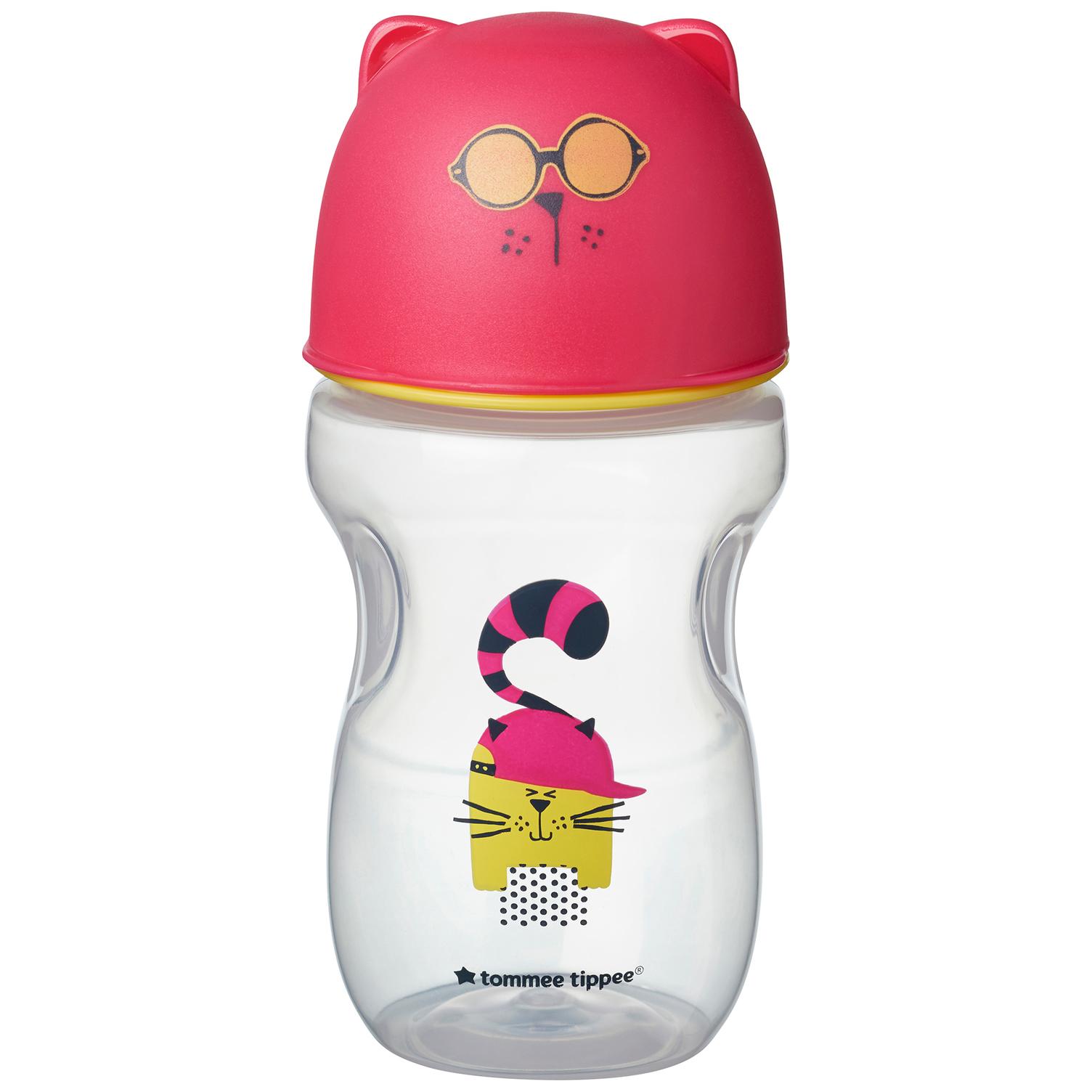 Hrnček s náustkom Soft 300ml 12m+ Pink