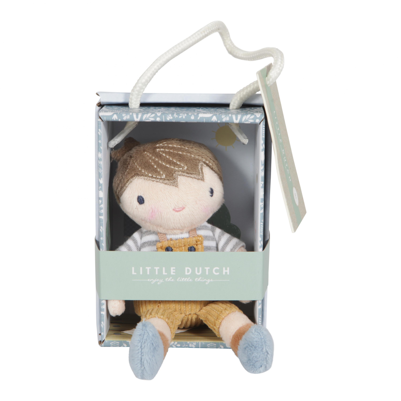 Bábika v krabičke 10cm chlapec