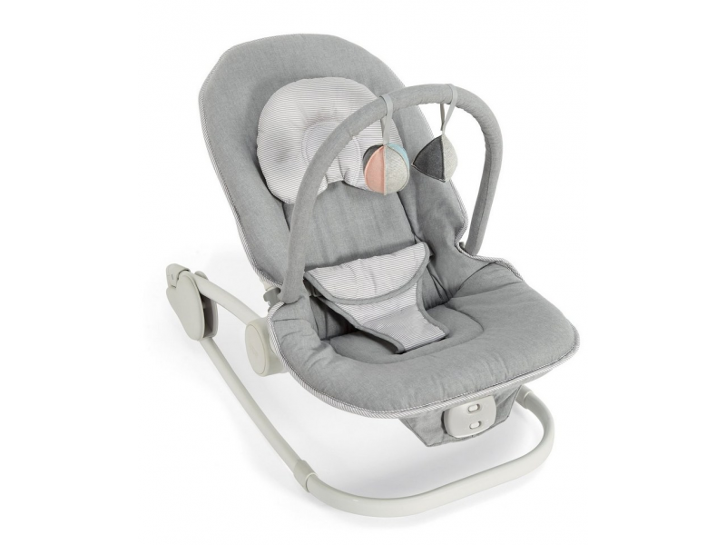 Lehátko Mamas & Papas Wave Rocker Grey Melange