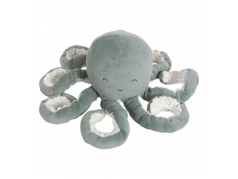 Plyšová chobotnička 22cm OCEAN mint