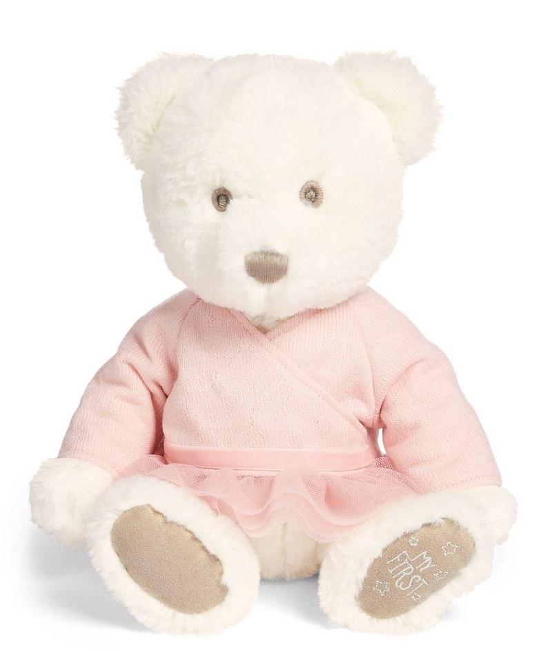 Medvedík vo svetri ružový