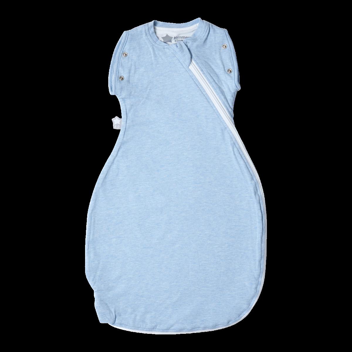 Zavinovačka Grobag Snuggle 0-4m celoroční Blue Marl