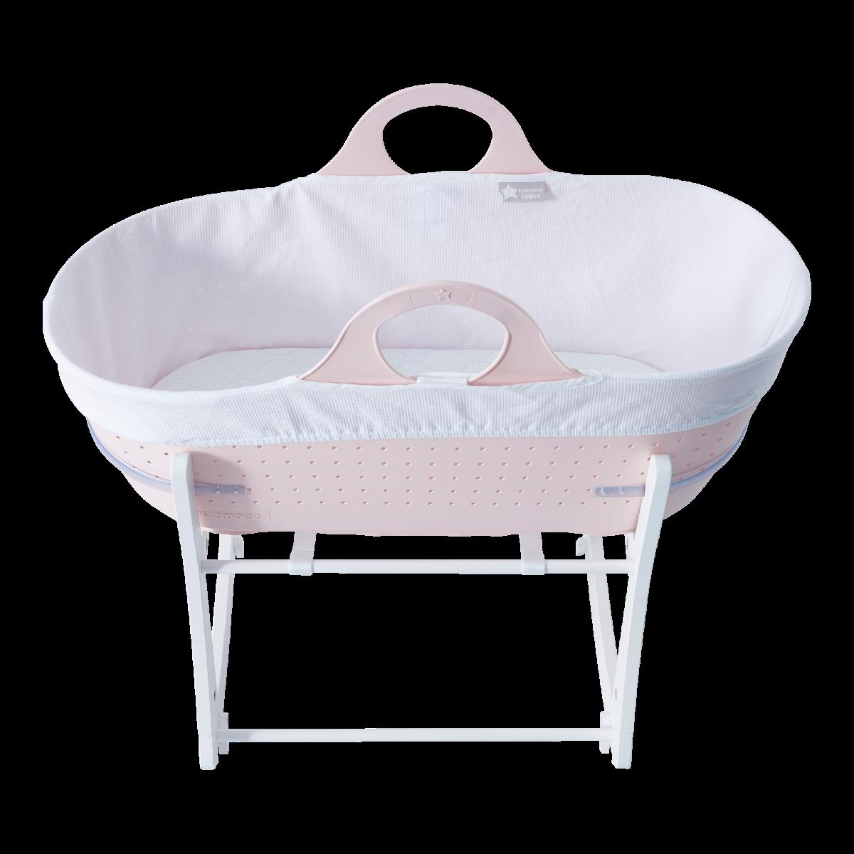 Košík na bábätko Sleepee so stojanom Pink