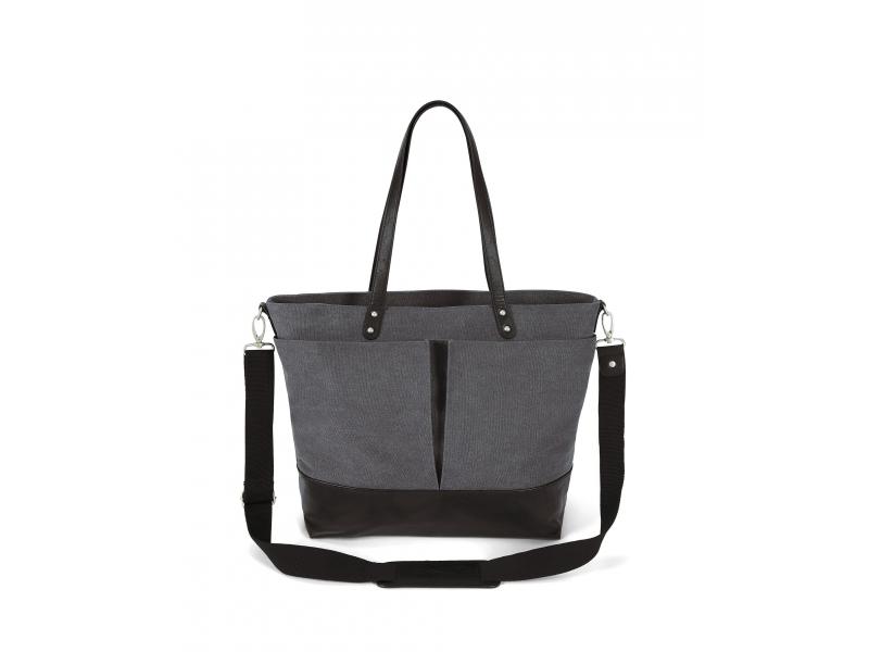 Přebalovací taška Donya Charcoal