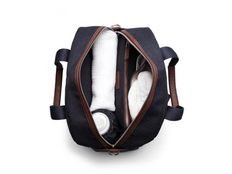 Přebalovací taška Bowling Navy Tweed