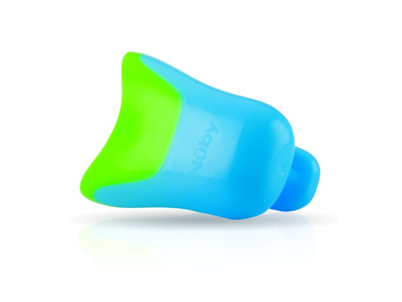Kyblík na oplachování šamponu modrý