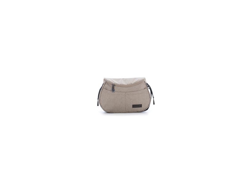 Kočárek Fjordi SP 2v1 Leather Melange Carob
