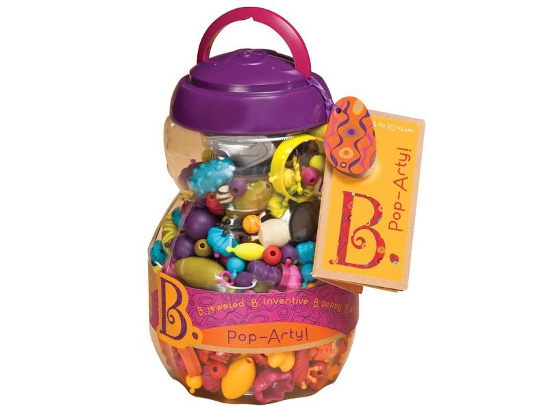B-Toys Spojovací korále a tvary Pop Arty 500 ks