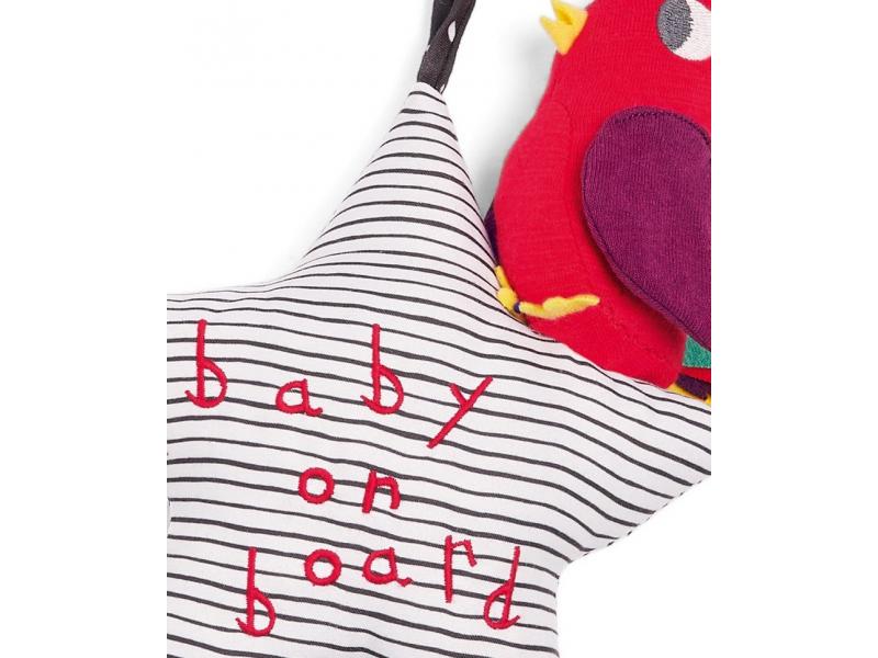 Mamas & Papas Hviezdička s vtáčikom do auta Baby on Board
