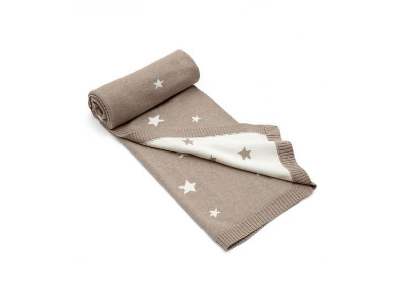 Pletená deka Millie & Boris hnědá