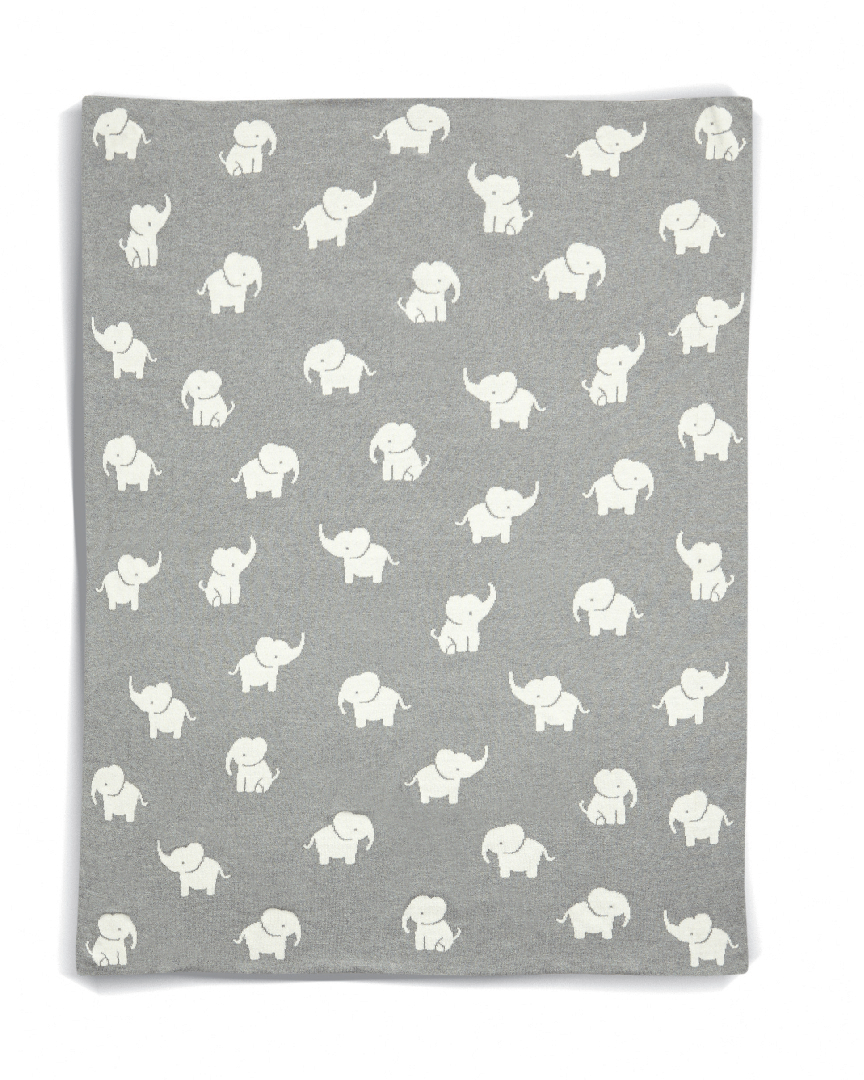 Pletená deka Slon