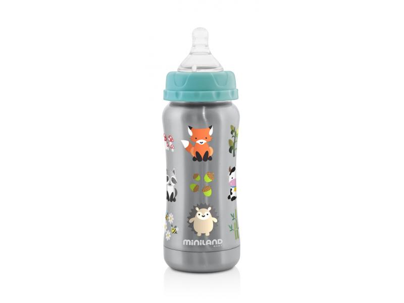 Termoizolační kojenecká láhev Thermo Baby