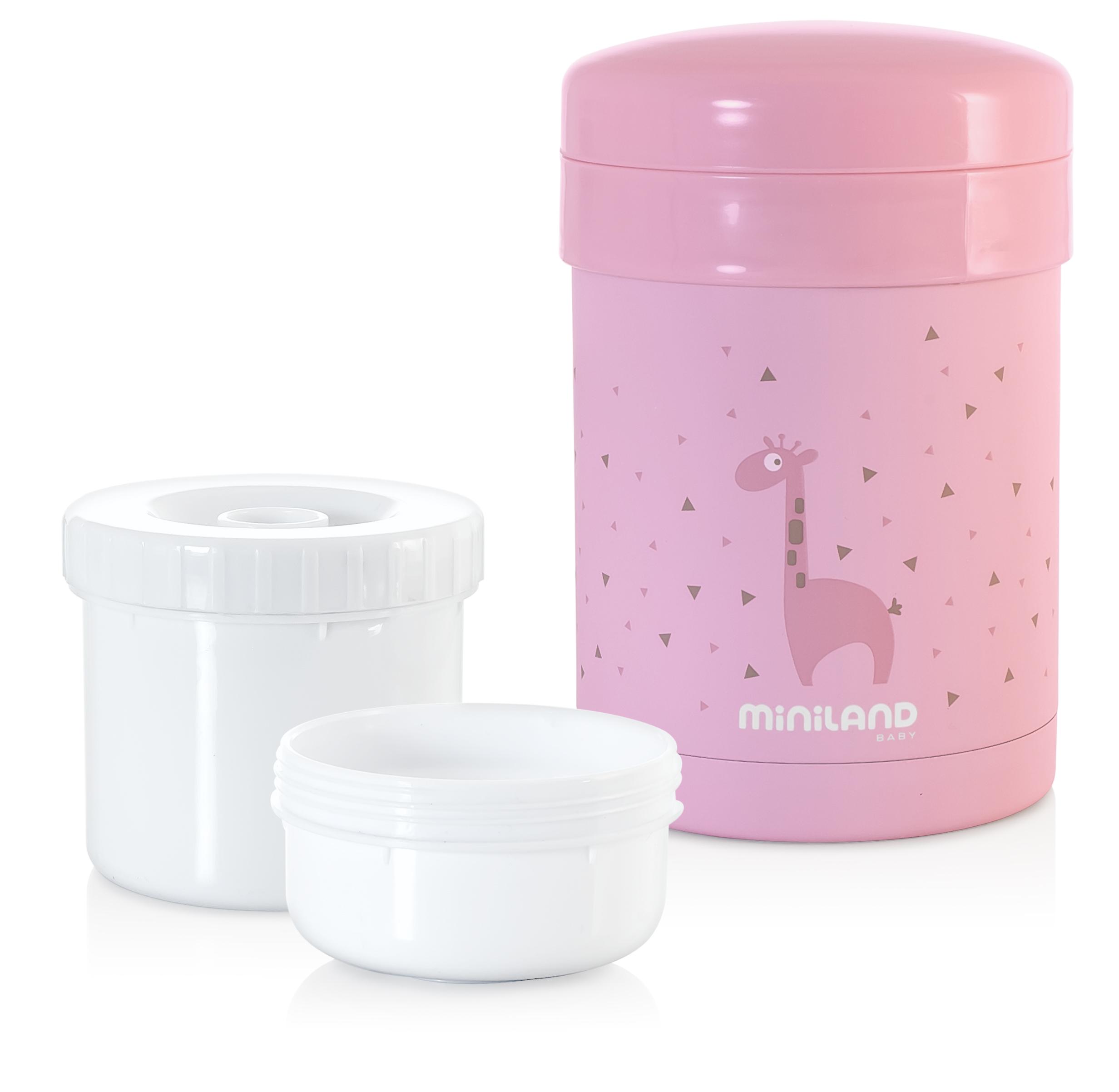 Termoska Thermic a kelímky na jedlo Pink 700ml