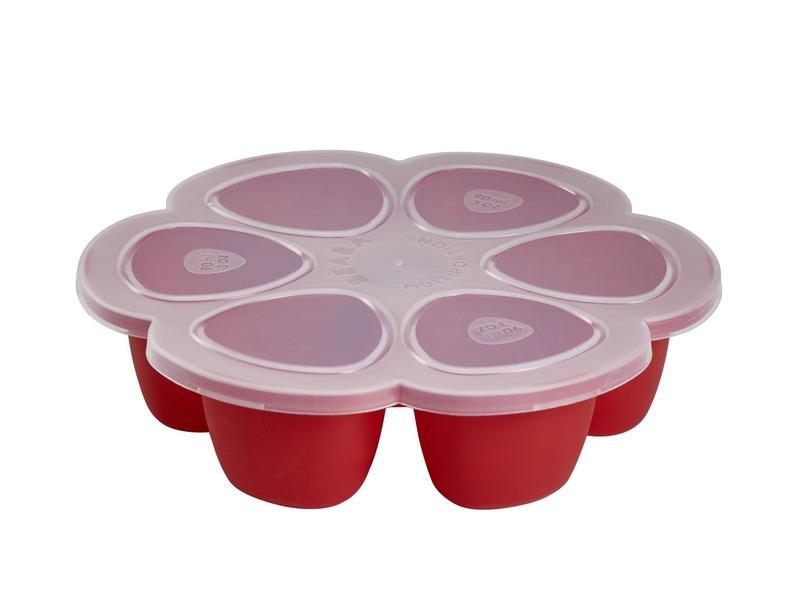 Multi-dávkovač na jídlo 6x90ml červený