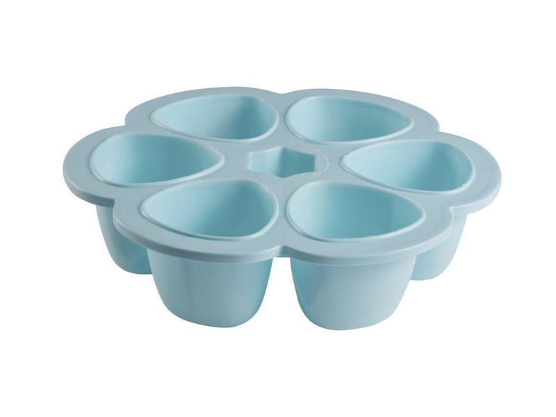 Multi-dávkovač na jídlo 6x90ml modrý