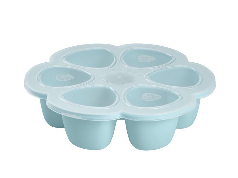 Multi-dávkovač na jedlo 6x90ml modrý