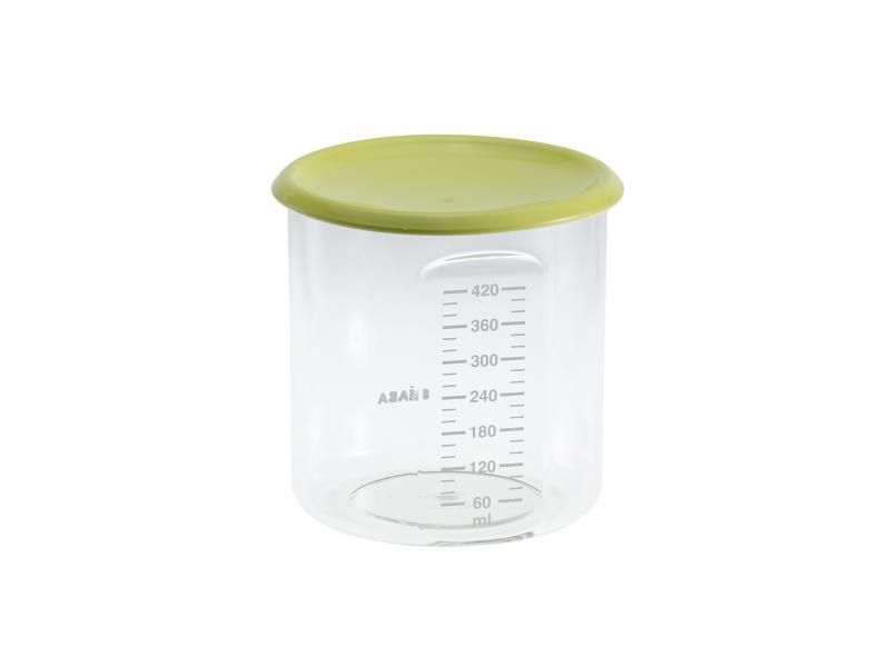 BEABA Kelímek na jídlo 420 ml zelený