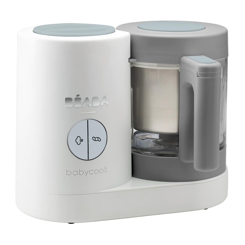 Parný  varič + mixér BABYCOOK Neo Grey White
