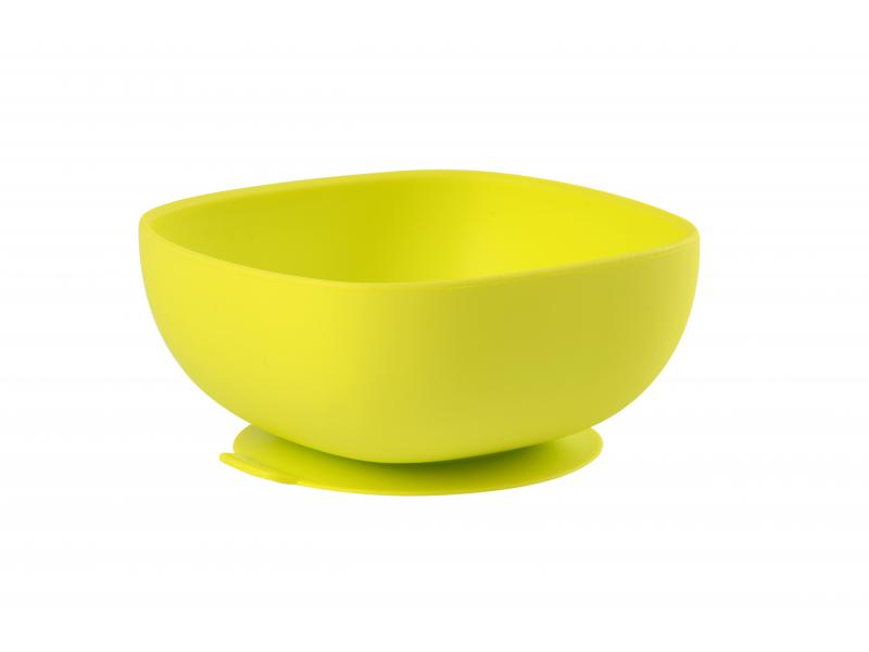 Miska silikonová s přísavkou Green