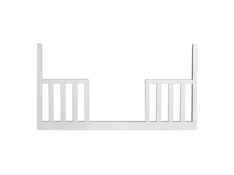 Troll SCANDY výměnný bok postýlky 120x60cm bílý