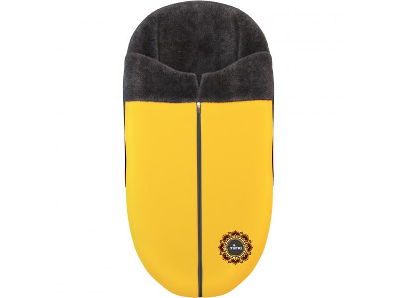 Xari kočárek 3G - sedák s korbou Yellow