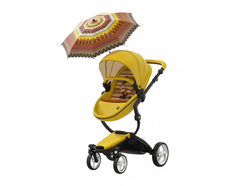 Xari kočík 3G - sedák s vaničkou Yellow