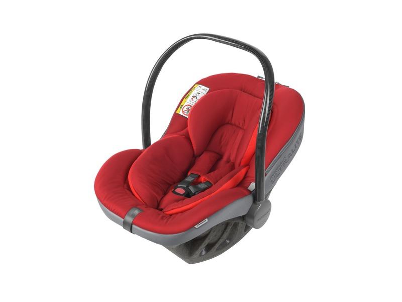 Autosedačka ULTRALITE v setu s Isofix základnou IQ (0-13) Milan Red