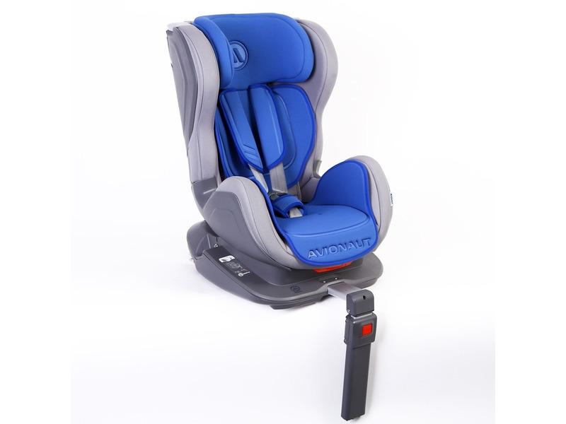 Autosedačka ISOFIX GLIDER (9-18) šedá / modrá