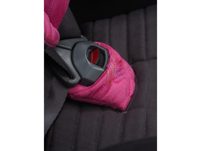 Autosedačka Avionaut ISOFIX GLIDER 2 SOFTY (9-25) 2019 černá / růžová