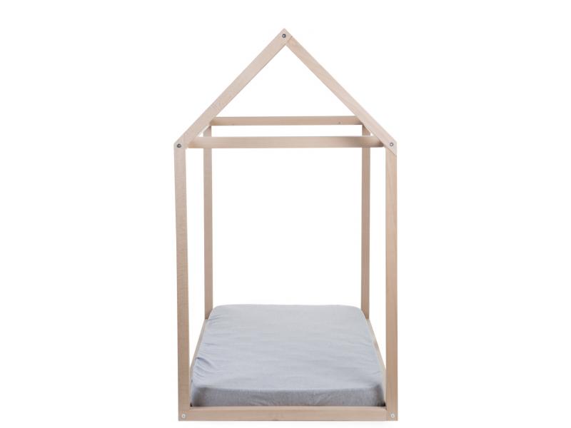 Childhome Rám postele Domek Natural 70x140cm