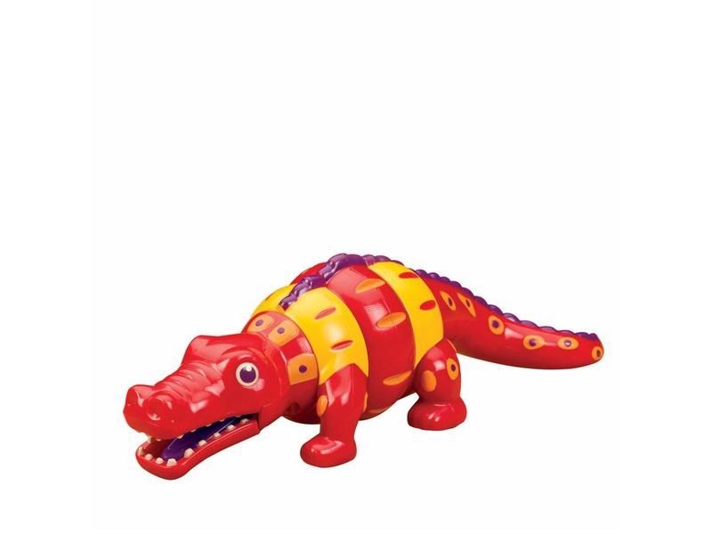 B-Toys Chřestící a klapající Krokodýl