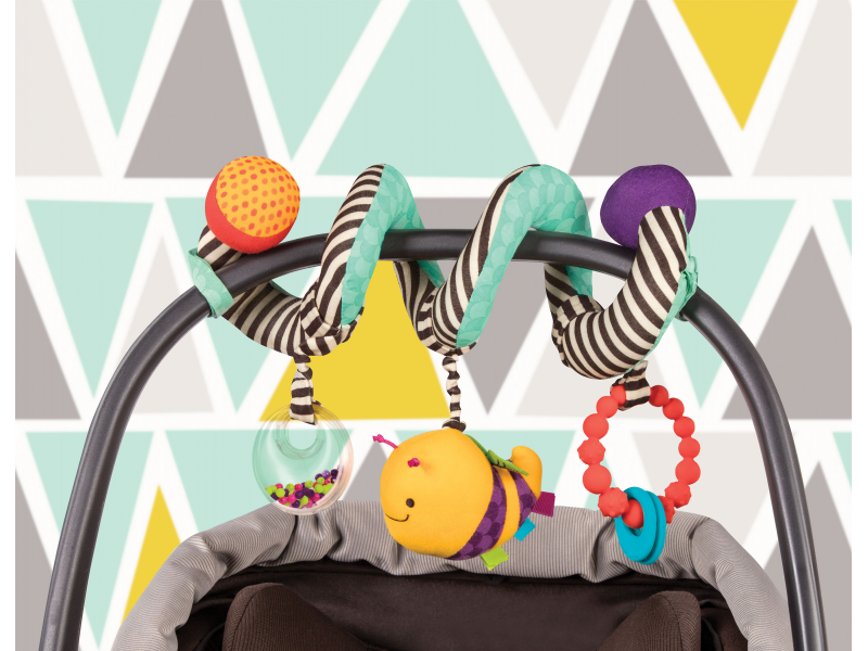 B-Toys Spirála na kočárek Wiggle Wrap