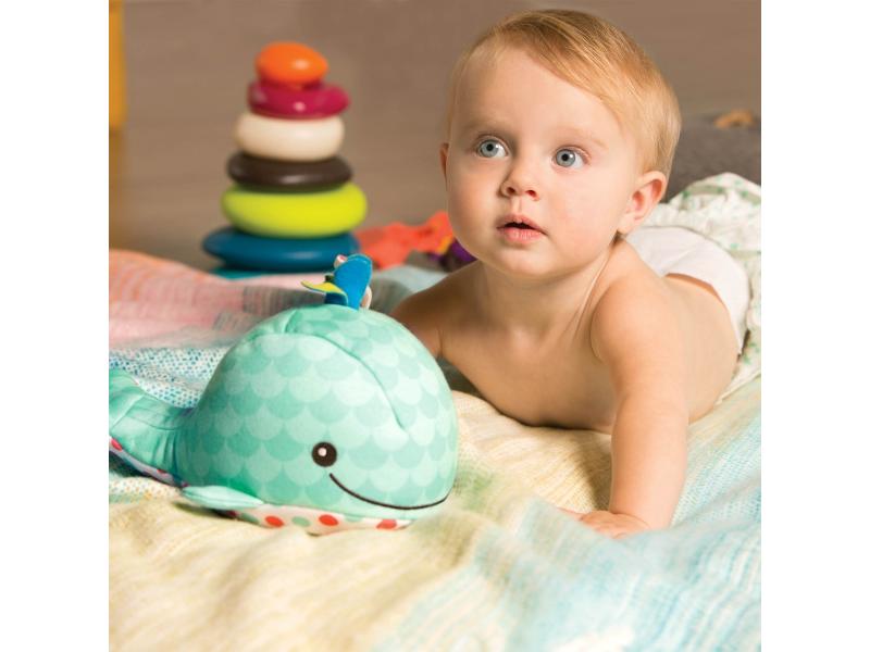 B-Toys Hrající velryba Glow Zzzs Whale