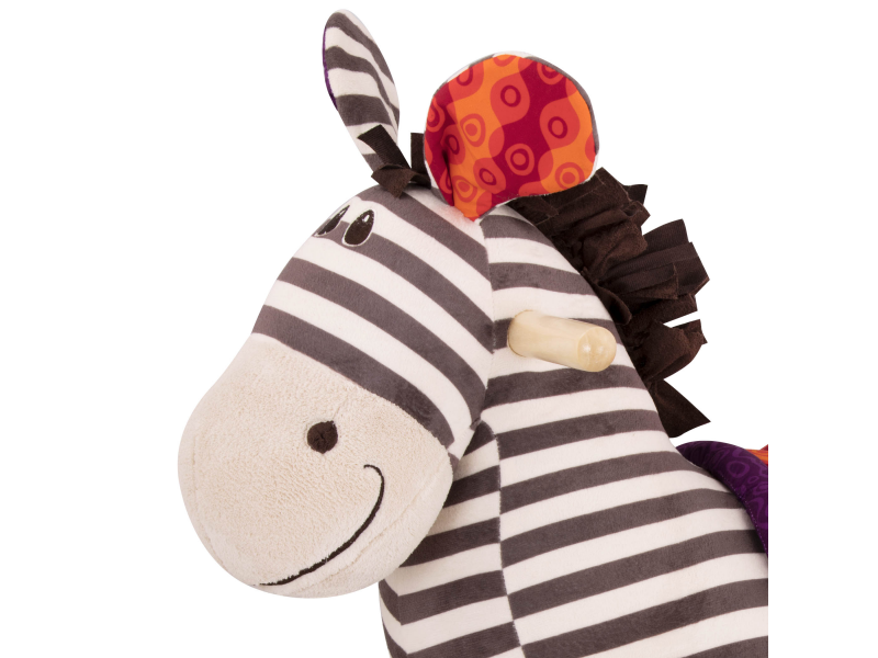B-Toys Houpací zebra Kazoo