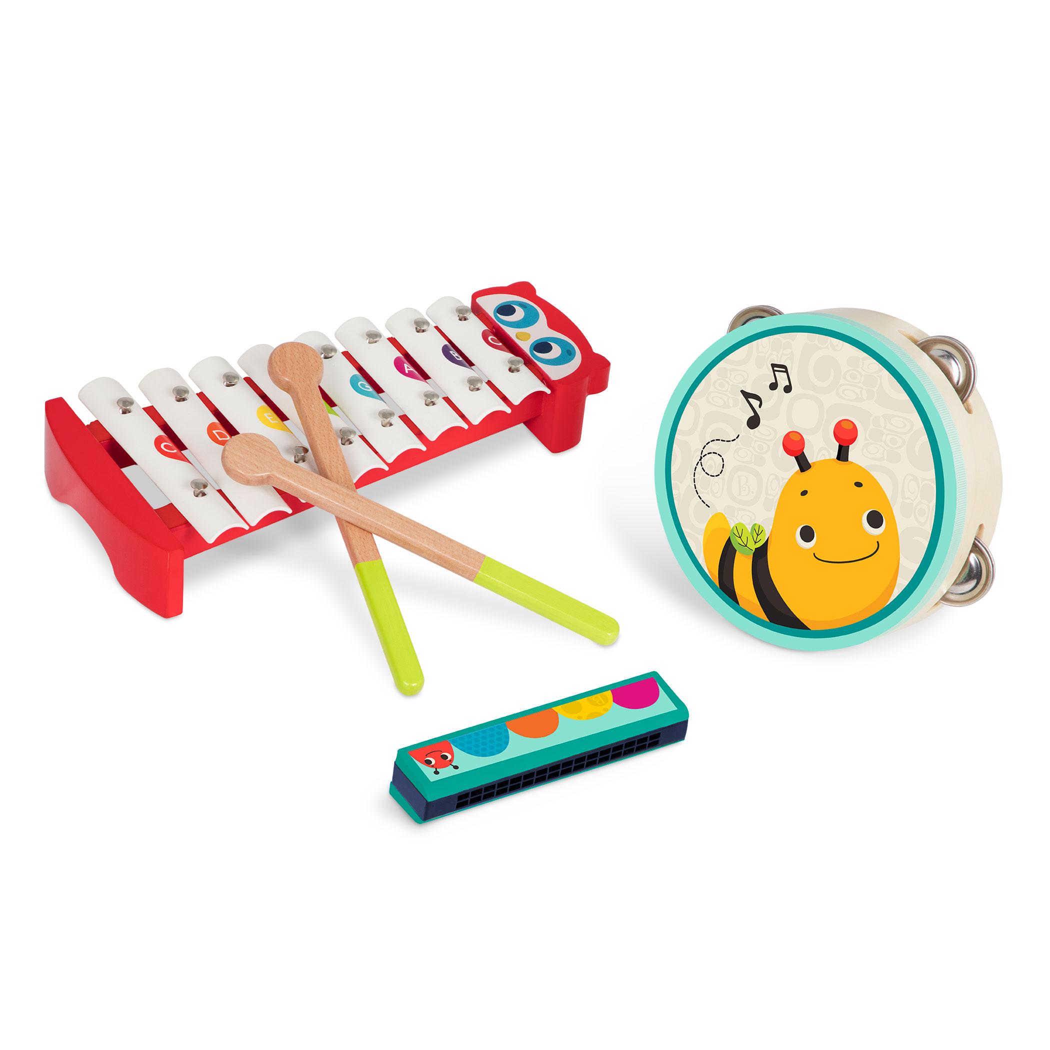 Hudobné nástroje drevené Mini Melody Band