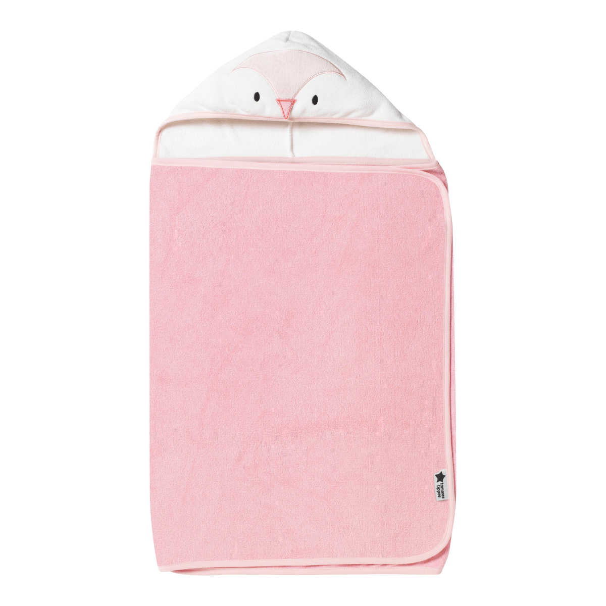 Osuška s kapucí Hug 'n' Dry 6-48m Penny Pink