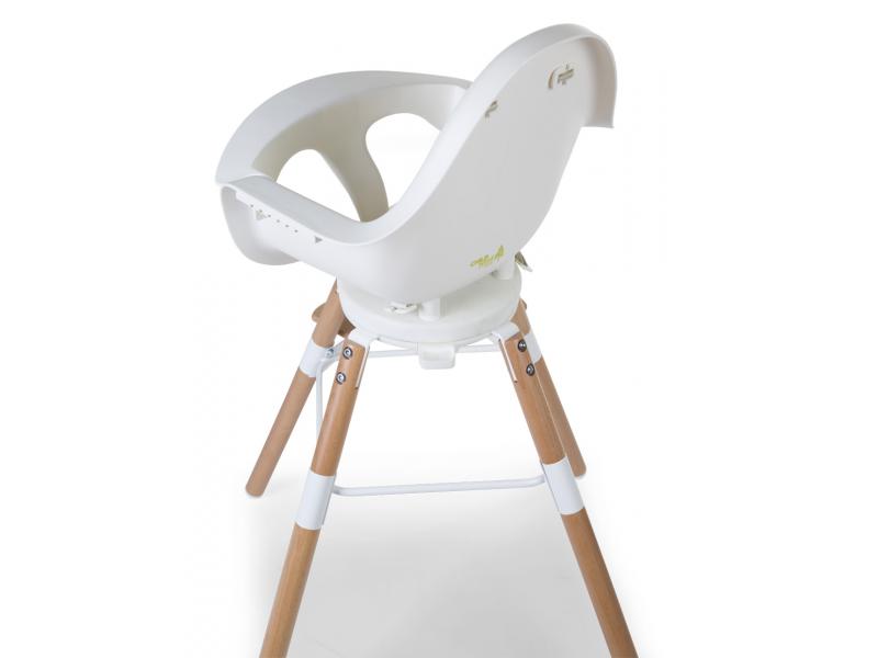 Childhome Židlička 2v1 Evolu ONE.80° Natural / White