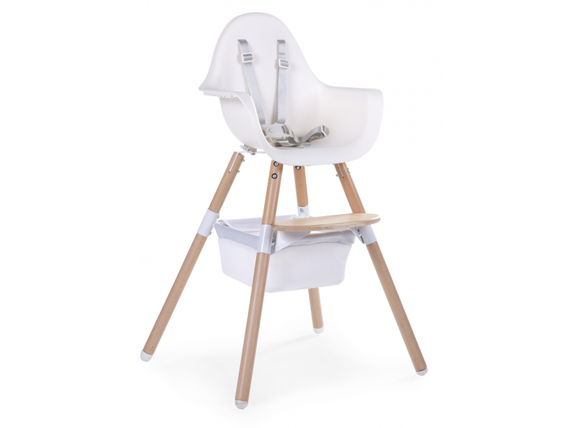 Childhome Košík pod židličku Evolu 2 White