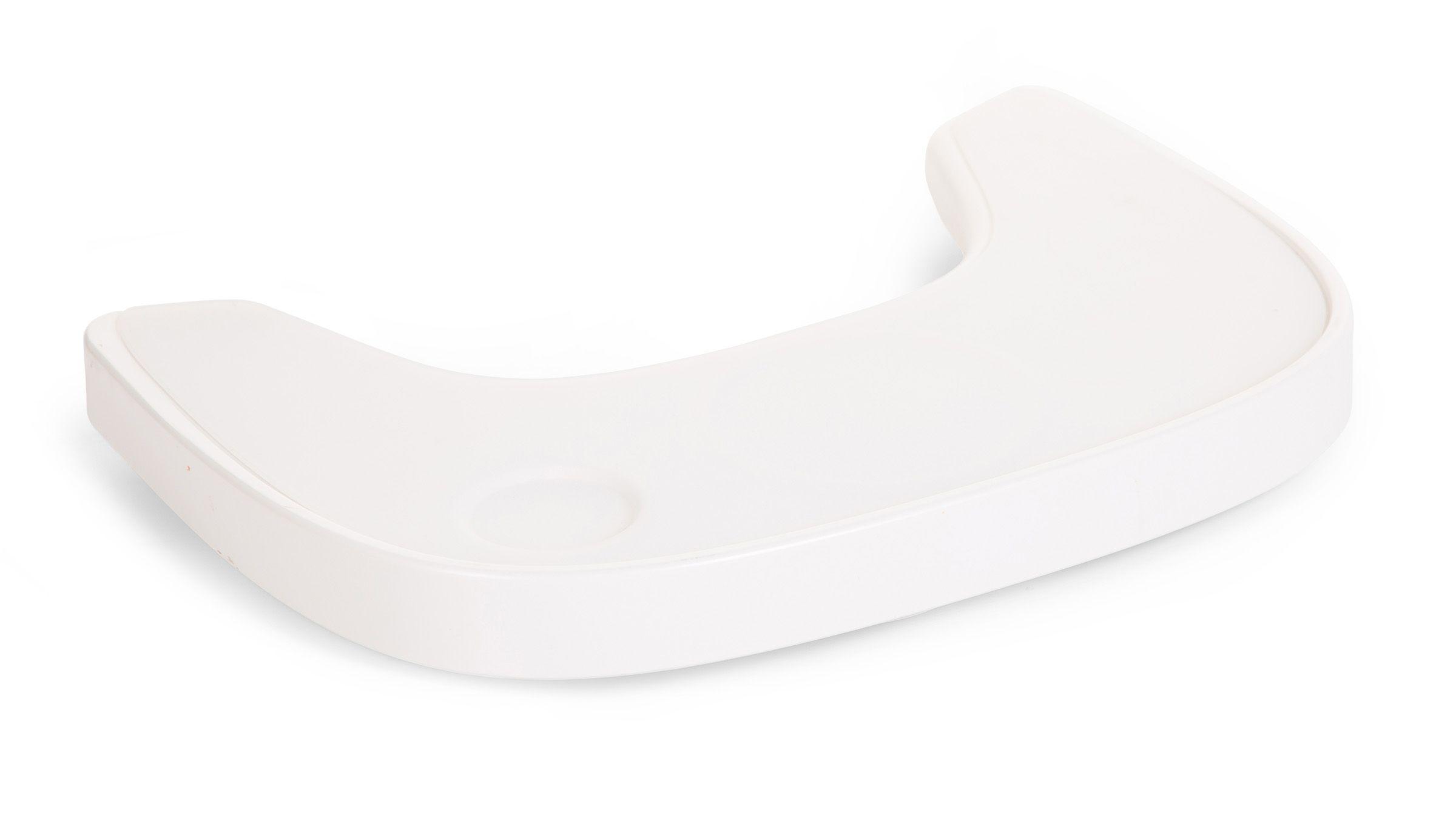 Pult k stoličke Evola ABS White + silikónové prestieranie