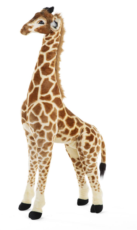 Žirafa plyšová stojící 135cm
