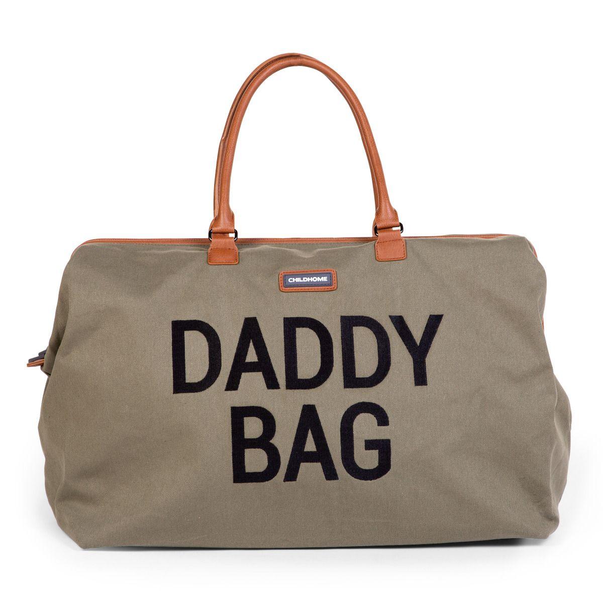 Přebalovací taška Daddy Bag Big Canvas Khaki