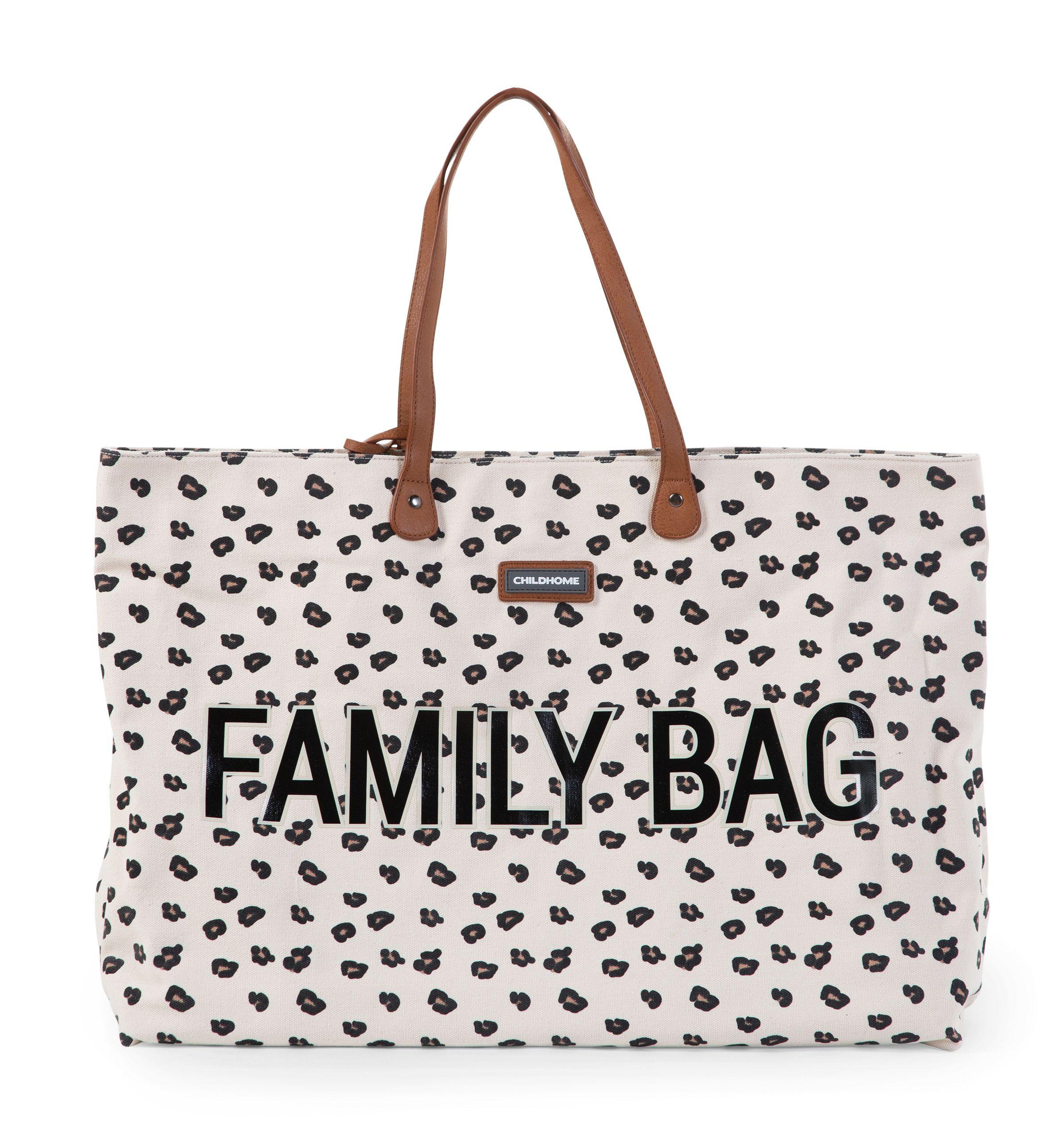 Cestovná taška Family Bag Canvas Leopard