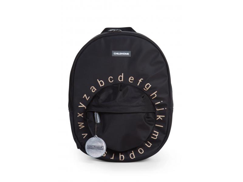Dětský batoh Kids School Backpack Black Gold