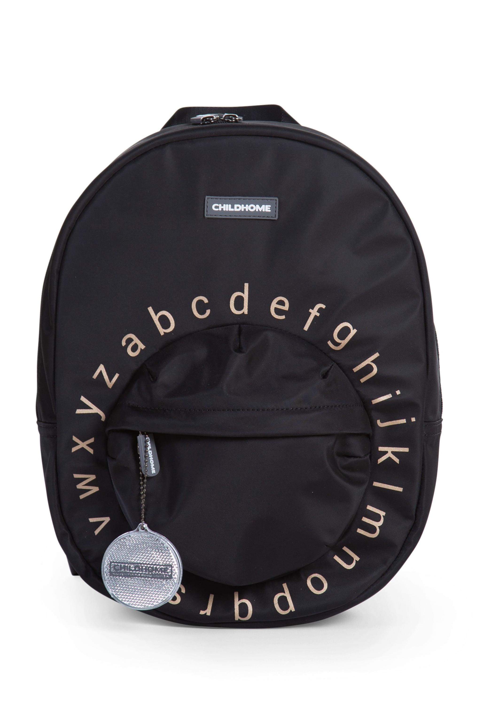 Detský batoh Kids School Backpack Black Gold