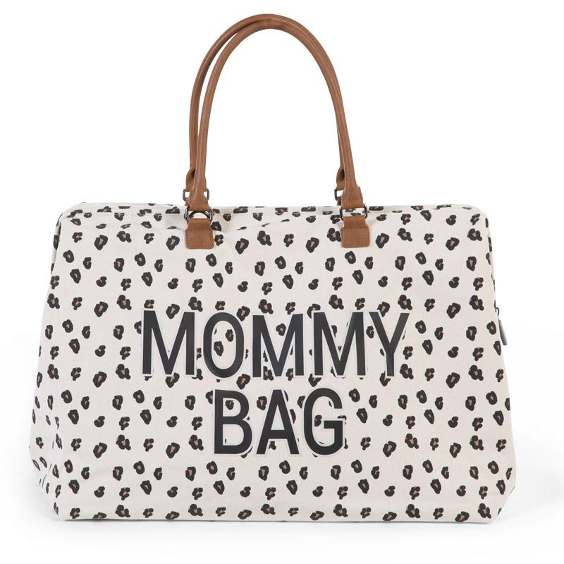 Prebaľovacia taška Mommy Bag Canvas Leopard