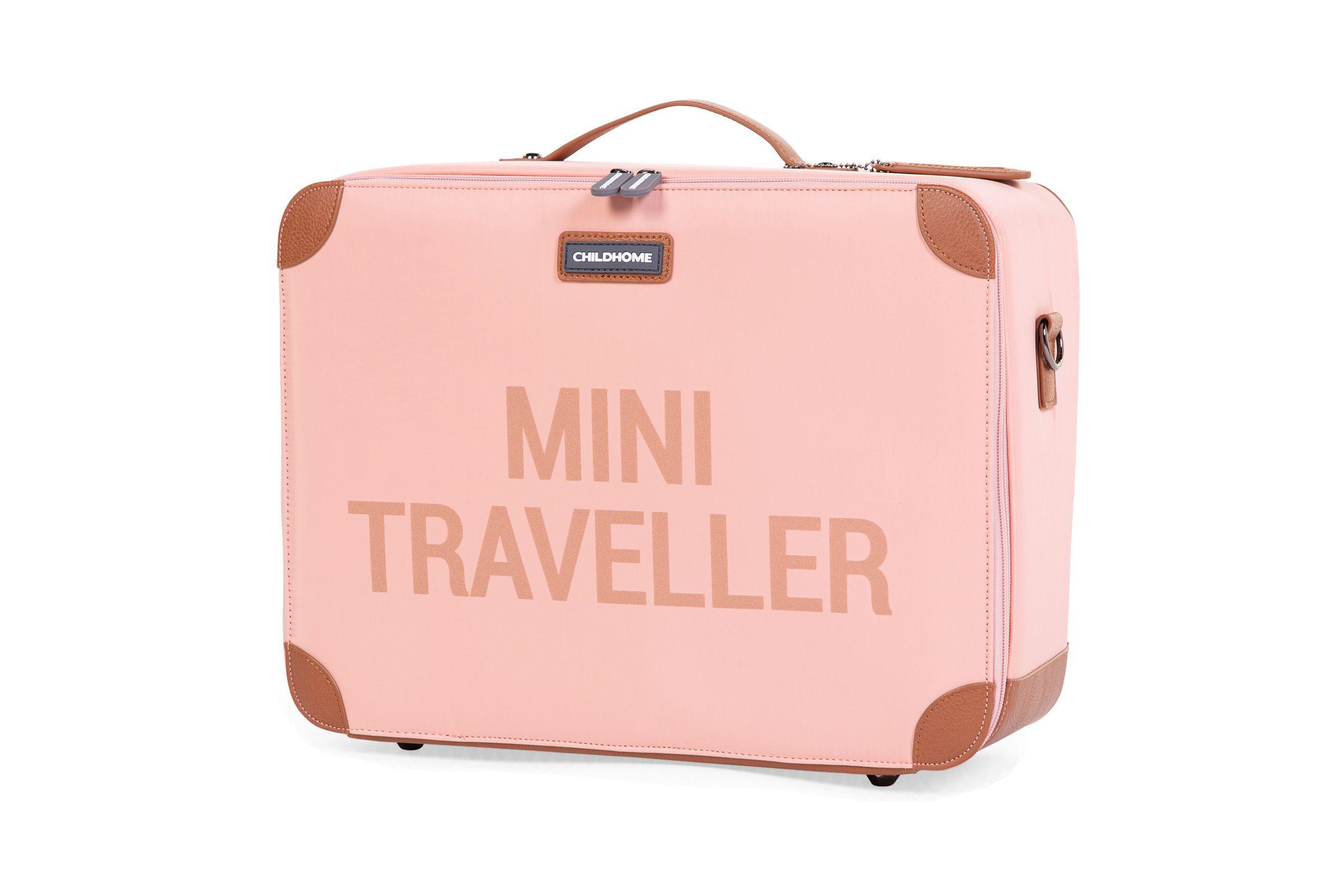 Dětský cestovní kufr Pink Copper